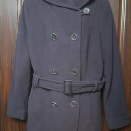 Пальто - П/пальто CANDA Германия цвет-насыщенный баклажан, 0