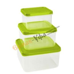 Контейнеры и ланч-боксы - Комплект контейнеров Vitamino квадрат., 0