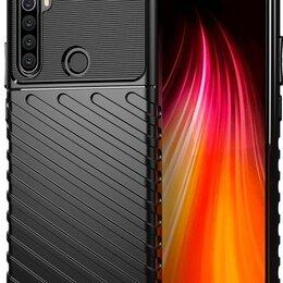 Чехлы - Ударопрочный чехол на Xiaomi Redmi Note 8T цвет черный, серия Onyx от Caseport, 0