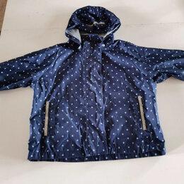 Куртки и пуховики - Ветровка,  дождевик с капишоном,финская на девочку 98-104 рост 2-4года , 0