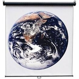 Экраны - Экран настенный 150*150см ScreenMedia Economy-P MW, 0