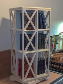Стеллажи и этажерки - Этажерка для книг, 0