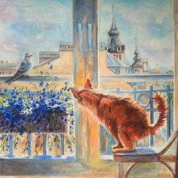 """Картины, постеры, гобелены, панно - Картина маслом на холсте""""Рыжий охотник"""", 0"""