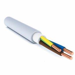 Кабели и провода - Кабель силовой NYM-J 3х2.5 Севкабель (ГОСТ), 0