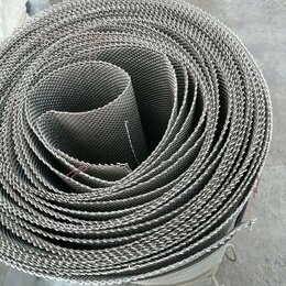 Заборчики, сетки и бордюрные ленты - Сетка из нержавеющей стали. , 0