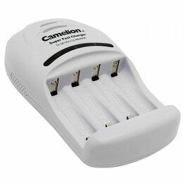 Аккумуляторы и зарядные устройства - Зарядные устройства Camelion Зарядное устройство BC-1007 4хAA/AAA 1000мА тайм..., 0