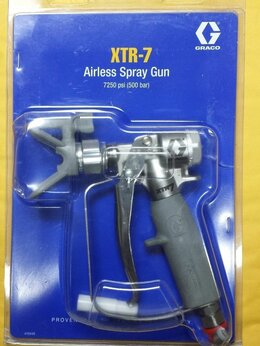 Аэрографы, краскопульты, текстурные пистолеты - Окрасочный пистолет Graco XTR 7, 0