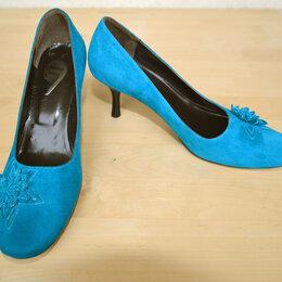 Туфли - Туфли женские новые замшевые, 36 размер, 0