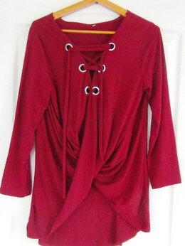 Блузки и кофточки - кофточка, трикотаж, 3ХL, длина 81, рукав 57, 0
