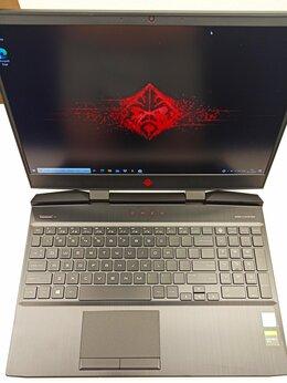 Ноутбуки - Игровой ноутбук HP omen 15-dc1xxx i7-9750H, 0