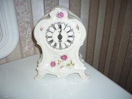 Часы настольные и каминные - фарфоровые часы, 0