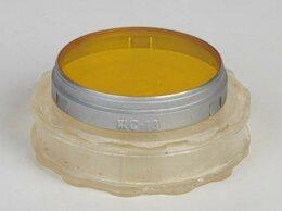 Светофильтры - Светофильтр янтарный ЖС-18, насадной, 40 мм, 0