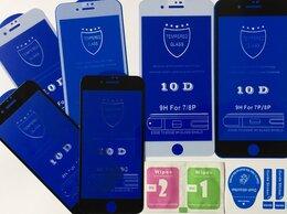 Защитные пленки и стекла - Защитные стекла на айфон 7+/8+, 0