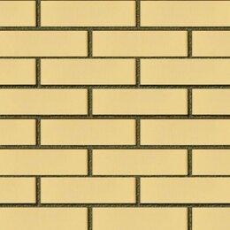 Кирпич - Кирпич фасадный желтый гладкий одинарный, 0