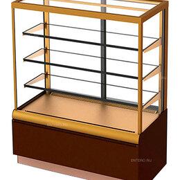 Холодильные витрины - Витрина кондитерская Carboma KC70 VV 0,9-1 (ВХСв - 0,9д Cube Люкс), 0