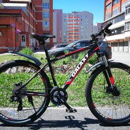 Велосипеды - Новый велосипед Galaxy ML235 - черный/красный, 0