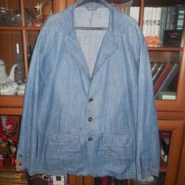 Пиджаки - Пиджак джинсовый, 0