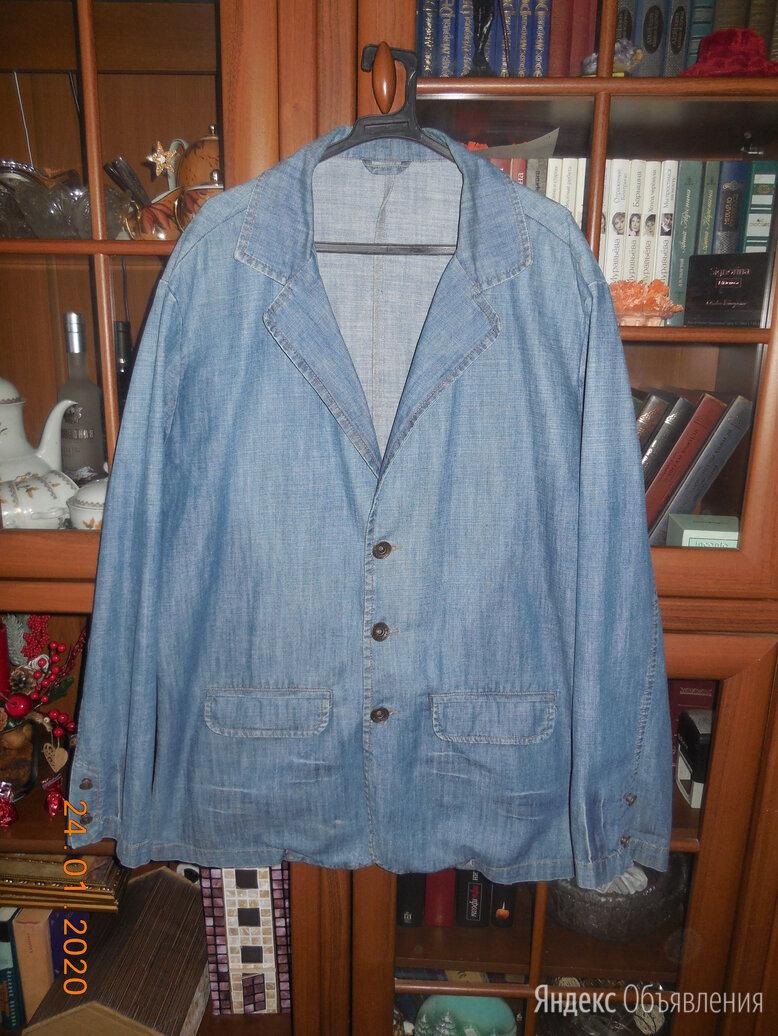 Пиджак джинсовый по цене 1200₽ - Пиджаки, фото 0