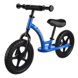 """Беговелы -  Беговел Playshion - Street Bike 12"""" EVA Синий, 0"""