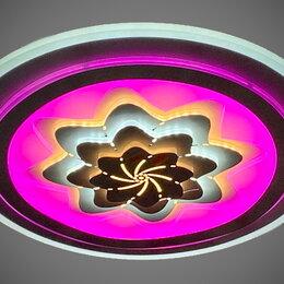 Люстры и потолочные светильники - Светильник LED потолочный 19208/500 172W с ПДУ, 0