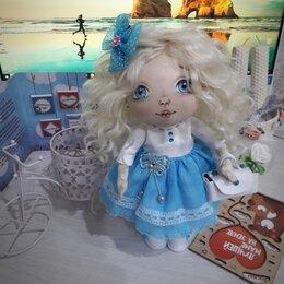 Рукоделие, поделки и сопутствующие товары - Интерьерная кукла: Нежность в голубом, 0