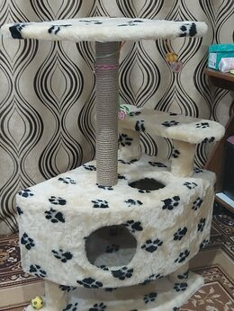Лежаки, домики, спальные места - Кошкин домик новый продам, 0