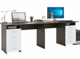 Столы и столики - Стол письменный Тандем-3 для двоих (0120), 0