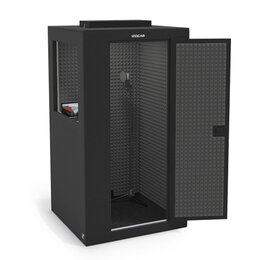 Изоляционные материалы - Звукоизоляционная кабина, цвет графит/графит,…, 0