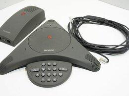 Системные телефоны - Аналоговый конференц-тел.Polycom SoundStation с БП, 0