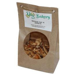 Лакомства  - Dog Bakery - Печенье для собак с белым рисом и курагой, 0