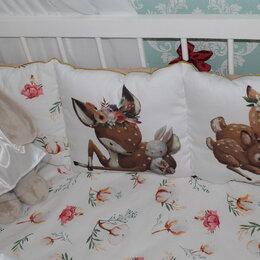 Постельное белье - Бортики в кроватку. Комплект., 0