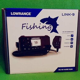 Рации - Радиостанция Lowrance link-9 DSC VHF Marine radio, 0