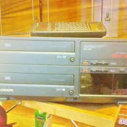 DVD и Blu-ray плееры - Видеомагнитофон Orion TT-112, двухкассетный , 0