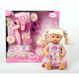 Куклы и пупсы - Карапуз с набором парикмахера для создания…, 0