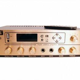 Усилители и ресиверы - TADS DS-USB-80B Усилитель мощности, трансляционный, 80Вт, 0