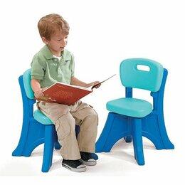 Стулья, табуретки - Детские пластиковые стулья Step2 Play and Shade…, 0