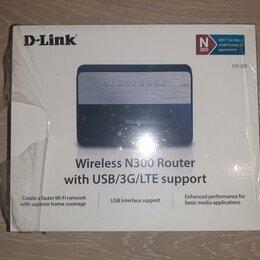 Проводные роутеры и коммутаторы - Wi-Fi роутер D-link Wireless n300, 0