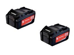 Аккумуляторы и зарядные устройства - Набор Metabo 2 аккум. 4.0Ач 18В Li-Power, 0