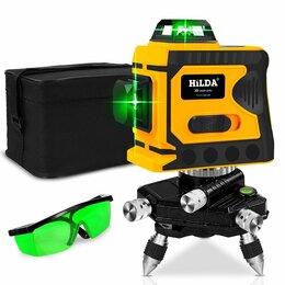Измерительные инструменты и приборы - Лазерный уровень hilda 3D, 0