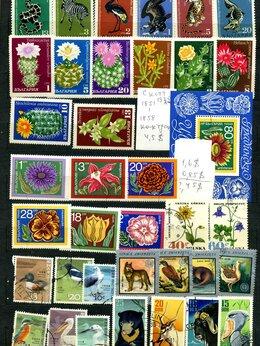 Марки - Коллекция импортных марок 60-70 гг флора, фауна,…, 0
