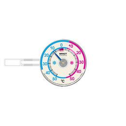 Метеостанции, термометры, барометры - Термометр оконный RST биметаллический на липучках 02097, 0
