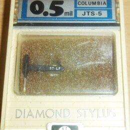 Аксессуары для проигрывателей виниловых дисков - Columbia JTS-5 (44-24) / Denon - новая вставка + щеточка. Nippon Columbia, 0