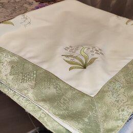 Скатерти и салфетки - Скатерть с вышивкой, 85х85 см, 0