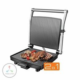 Электрические грили и шашлычницы - Электрогриль Redmond RGM-M802P Steak&Bake, 0
