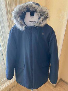 Пуховики - Зимняя мужская оригинальная куртка adidas  , 0