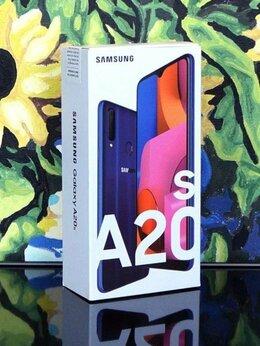 Мобильные телефоны - Новый Samsung Galaxy A20s 32GB, синий. Гарантия, 0