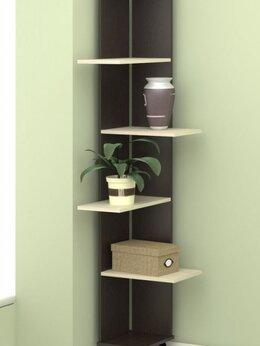 Стеллажи и этажерки - Стеллаж-стойка декоративная угловая Гайва мебель, 0