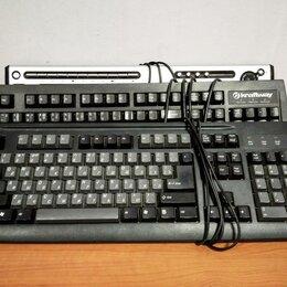 Клавиатуры - Клавиатура PS/2 черная, 0