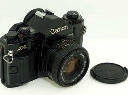 Фотоаппараты - Фотоаппарат Canon A-1 с объективом Canon Lens FD…, 0