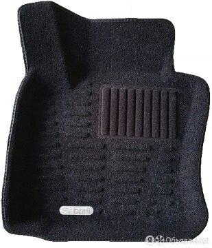 Коврики салона Satori 3D для VW Touareg 2002-2011  с бортиком черные (с TXT п... по цене 4700₽ - Интерьер , фото 0